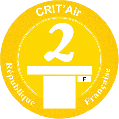 Certificat Crit'Air 2